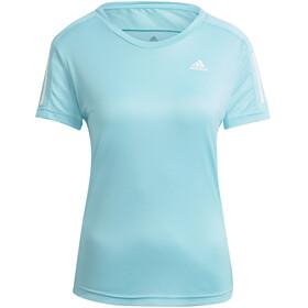 adidas OWN The Run T-Shirt Dames, blauw